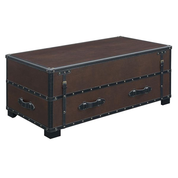 Picket House Newport Cherry Wood Lift Top Coffee Table PKT-CLU500CTE