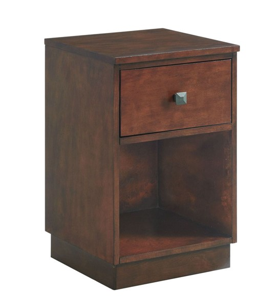 Picket House Rehan Espresso Wood Storage Side Table PKT-CTHY550NSE