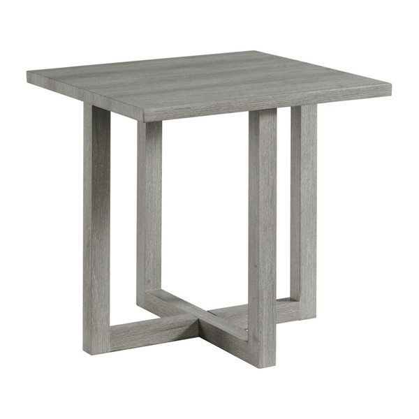 Picket House Dawson Light Grey Wood End Table PKT-CTUT100ET