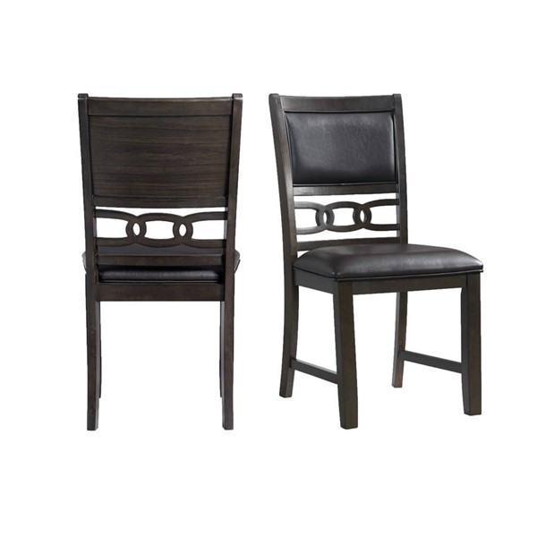 Picket House Taylor Faux Leather Side Chairs PKT-DAH505-DR-CH-VAR