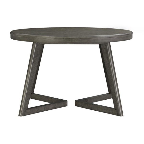 Picket House Hudson Gray Round Dining Table PKT-DCR500RDTE