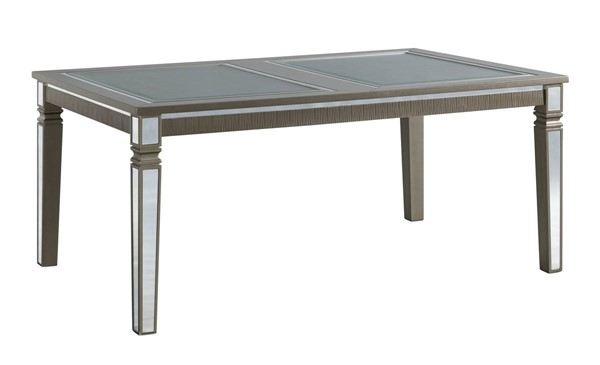 Picket House Aria Gray Standard Height Rectangle Dining Table PKT-DFH150DTML