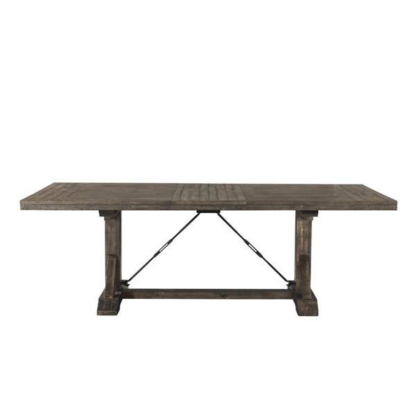 Picket House Flynn Walnut Rectangle Dining Table PKT-DFN100DTB