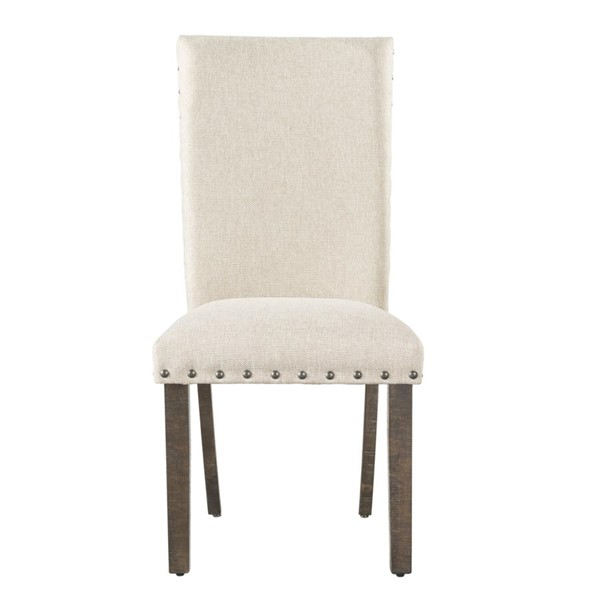 2 Picket House Dex Cream Upholstered Side Chairs PKT-DJX100SC