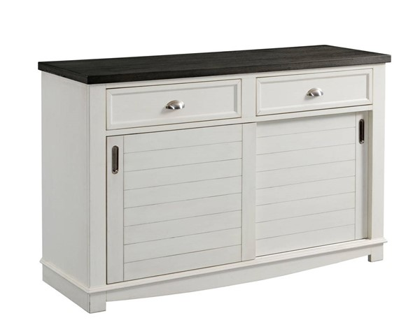 Picket House Jamison Gray White Two Tone Server PKT-DKY300SV