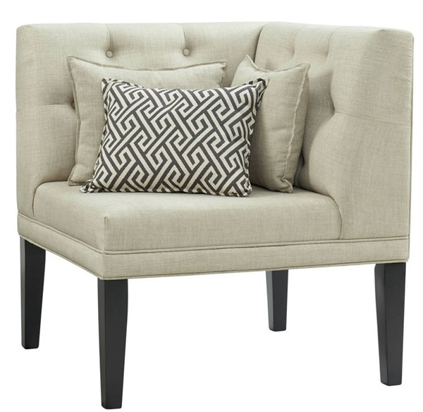 Picket House Mara Taupe Corner with Three Pillows PKT-DMD100SFCR