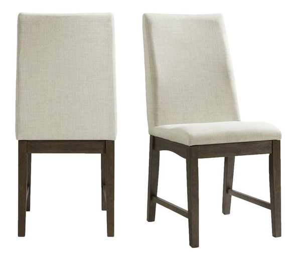 2 Picket House Simms Cream Fabric Side Chairs PKT-DPR500SC
