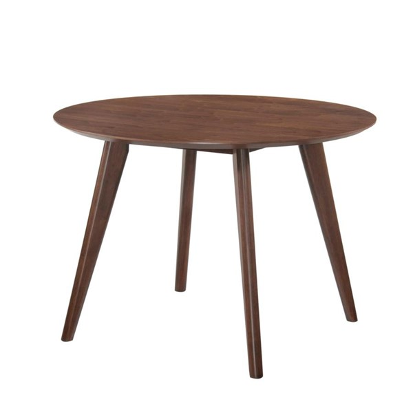 Picket House Rosie Walnut Wood Round Dining Table PKT-DRB500DT