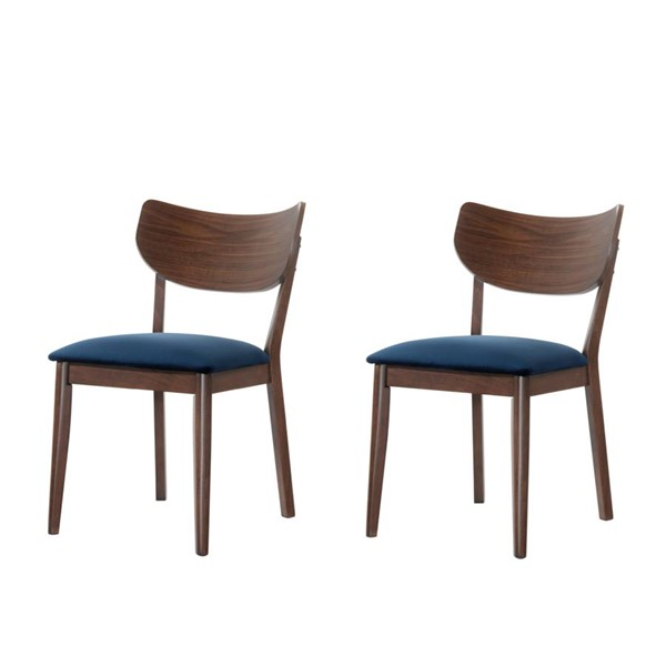 2 Picket House Rosie Fabric Armless Side Chairs PKT-DRB500-SC-VAR