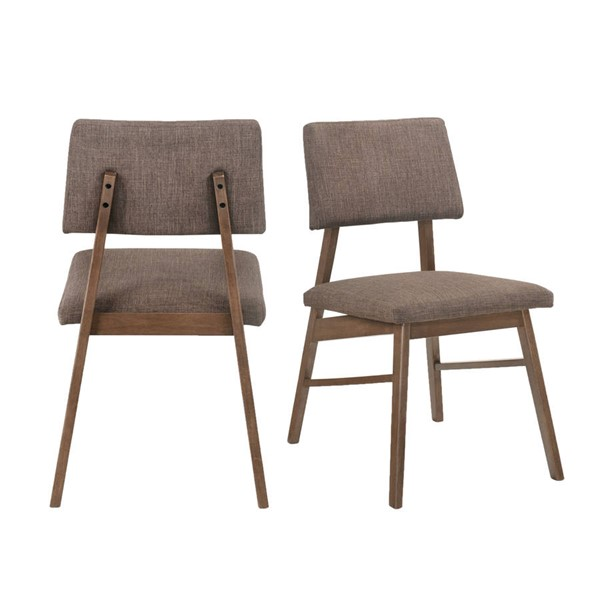 2 Picket House Ronan Walnut Standard Height Side Chairs PKT-DRZ100SC