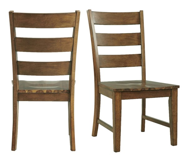 2 Picket House Sultan Antique Oak Dining Side Chairs PKT-DSL100SC