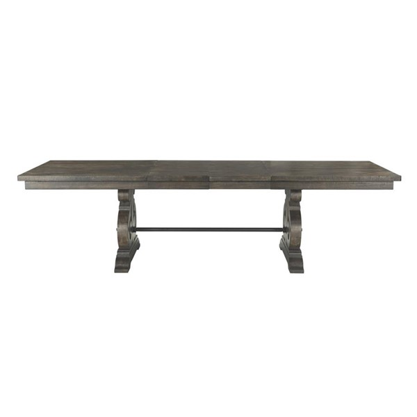 Picket House Stanford Smokey Walnut Standard Height Dining Table PKT-DST100DTB