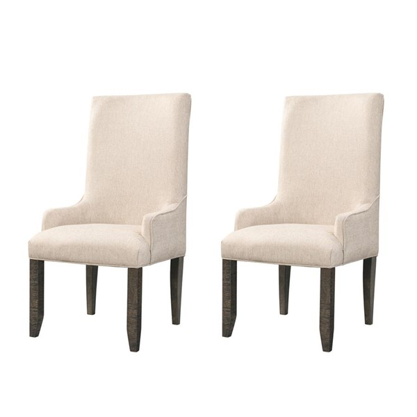 Picket House Stanford Cream Standard Height Parson Chairs PKT-DST-00-PC-VAR