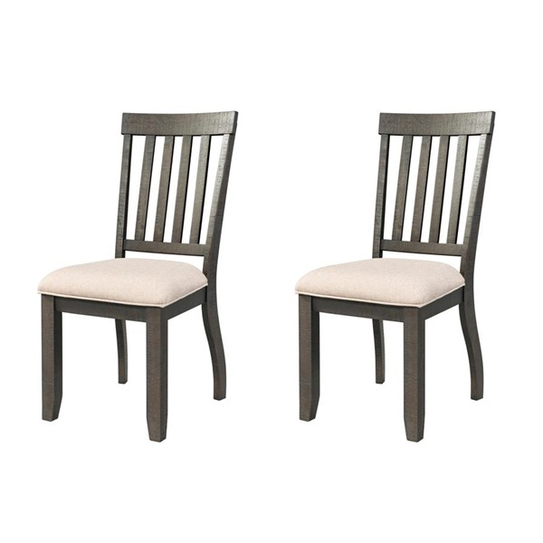 Picket House Stanford Smokey Walnut Standard Height Side Chairs PKT-DST-00-SC-VAR
