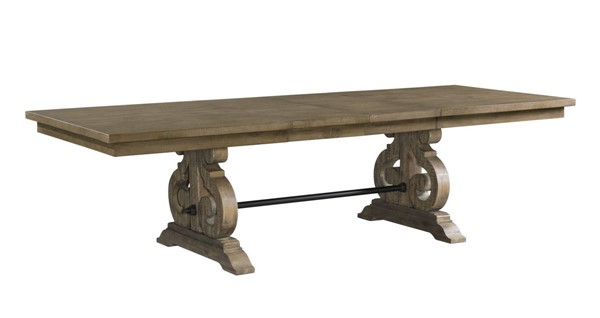 Picket House Stanford Grey Standard Height Dining Table PKT-DST300DT