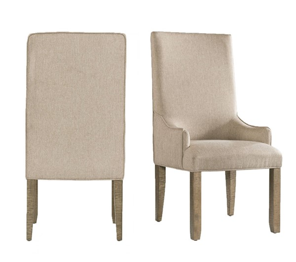 Picket House Stanford Taupe Standard Height Parson Chair PKT-DST300PC