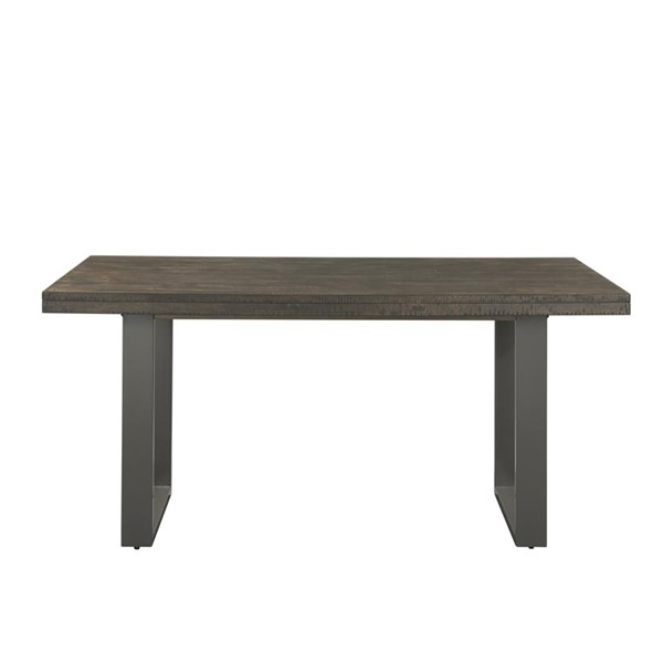 Picket House Sullivan Dark Ash Wood Rectangle Dining Table PKT-DSW100DT