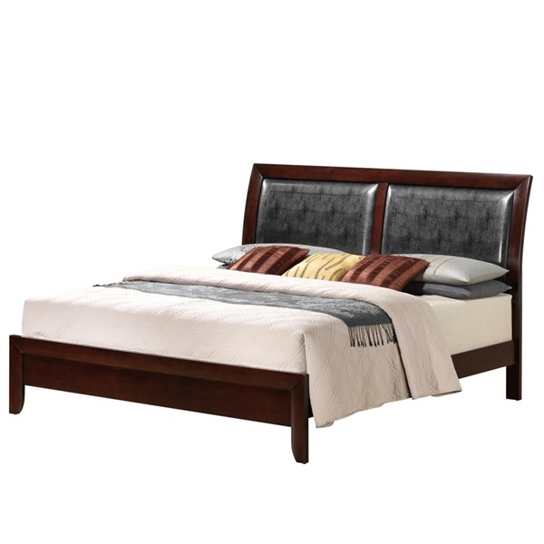 Picket House Madison Mahogany Wood Queen Panel Bed PKT-EM200QB