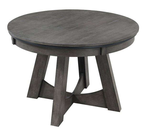 Picket House Princeton Gray Round Game Table PKT-GTPR100GT