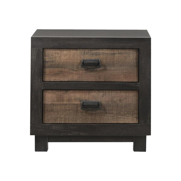 Picket House Harrison Walnut 2 Drawers Night Stand PKT-HG100NS