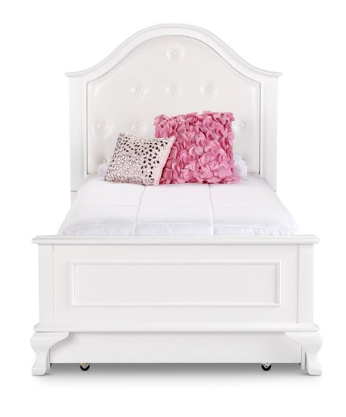 Picket House Jenna White Wood Panel Beds PKT-JS700-BED-VAR