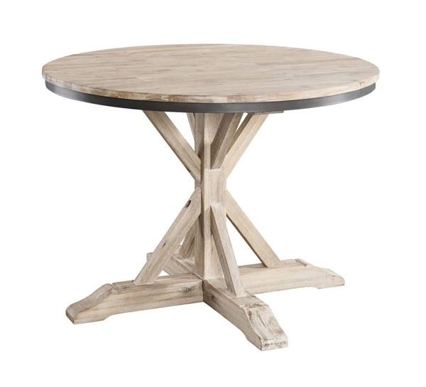 Picket House Keaton Beach Round Standard Height Dining Table PKT-LCL100RT