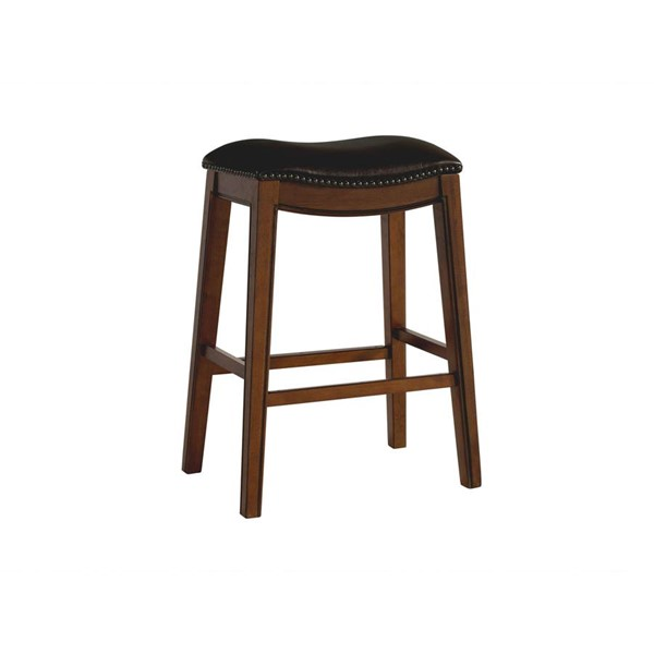 Picket House Bowen Brown 30 Inch Backless Bar Stool PKT-LFS100BSTBR