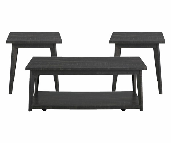 Picket House Rory Black Occasional Table Set PKT-T-11450-OT