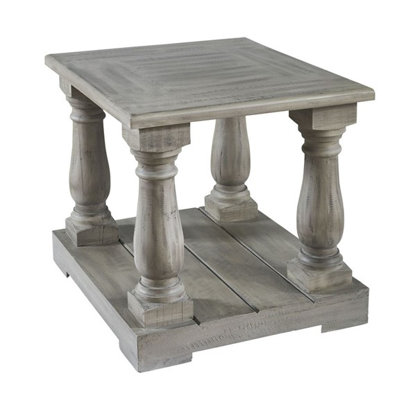 Picket House Baxter Smoke Grey End Table PKT-MAIV300ET
