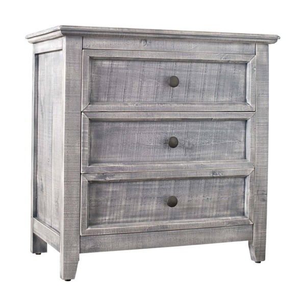 Picket House Kendrick Silver 3 Drawer Accent Chest PKT-MALS06CNE