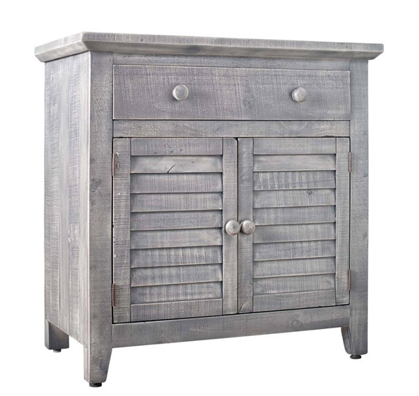 Picket House Diego Silver 2 Door Accent Chest PKT-MARF06CNE
