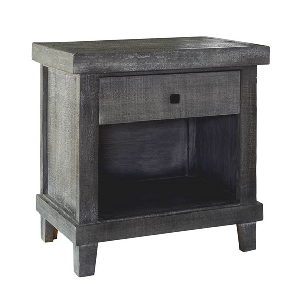 Picket House Donovan Gray One Drawer Nightstand PKT-MASB300NSE