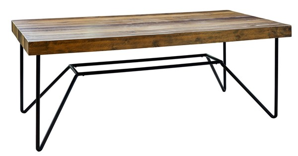 Picket House Tyler Natural Rectangular Dining Table PKT-MDCZ100DT