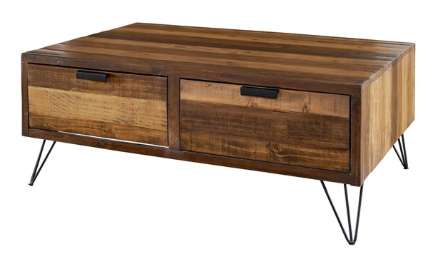 Picket House Tyler Natural Rectangular Coffee Table PKT-MTCZ100CT