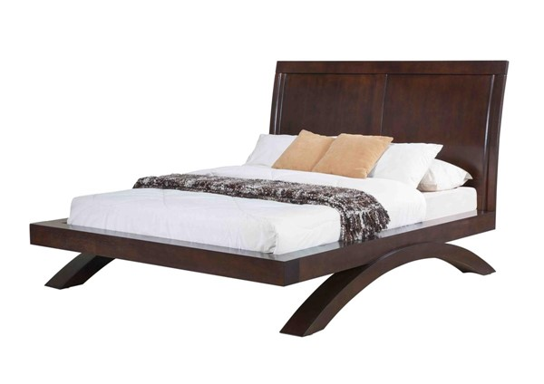 Picket House Zoe Savory Espresso Queen Platform Bed PKT-RV100QB