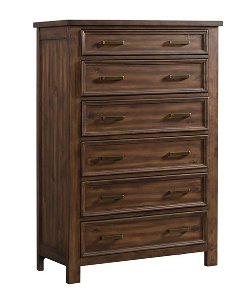 Picket House Damen Chestnut 6 Drawer Chest PKT-SV500CH