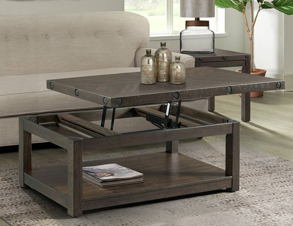 Picket House Rio Charcoal 2pc Occasional Table Set PKT-TCO100CE2PC