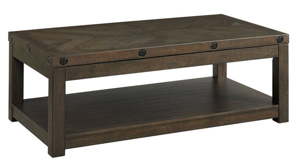 Picket House Rio Charcoal Coffee Table with Lift Top PKT-TCO100CTLT