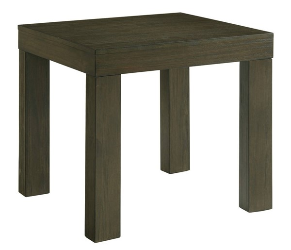 Picket House Jasper Dark Walnut Square End Table PKT-TGD100ETPE