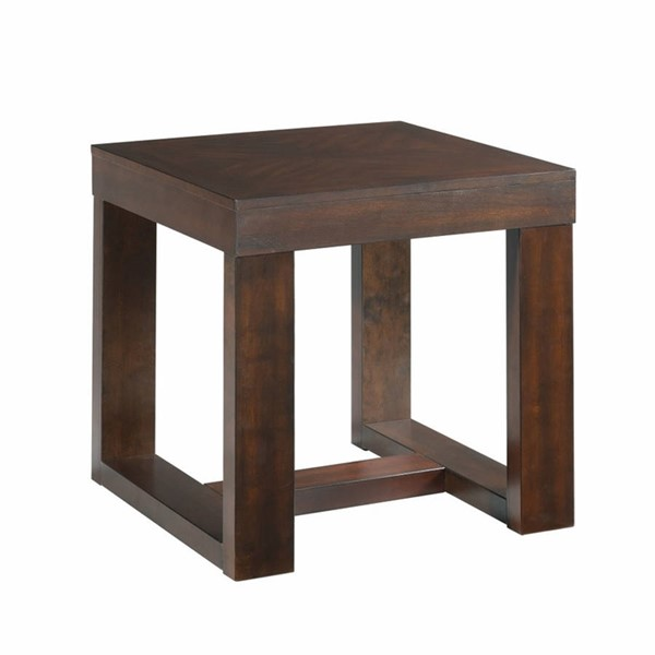 Picket House Berlin Cherry Drew Square End Table PKT-THY100ETE