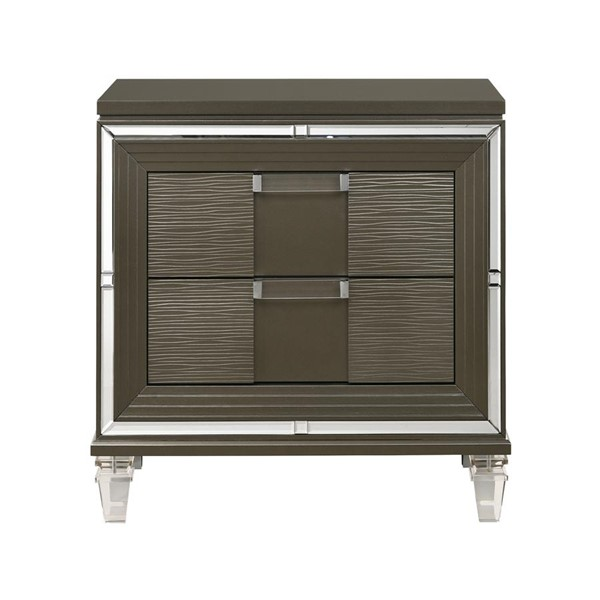 Picket House Charlotte Copper 2 Drawers Night Stand with Usb PKT-TN600NS