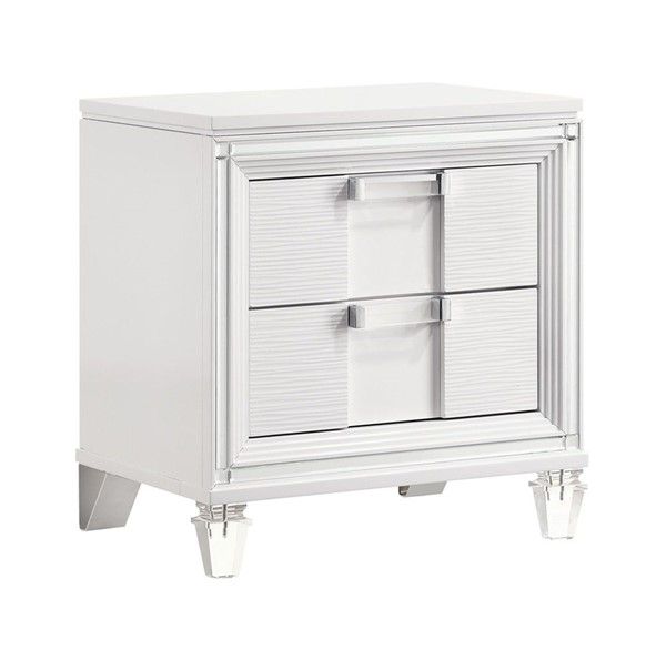 Picket House Charlotte Youth White 2 Drawers Night Stand PKT-TN777NS