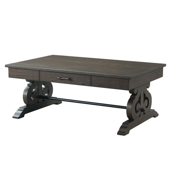 Picket House Stanford Smokey Walnut Wood Coffee Table PKT-TST100CT