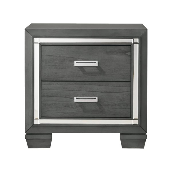 Picket House Kenzie Gray 2 Drawers Night Stand PKT-TT100NS