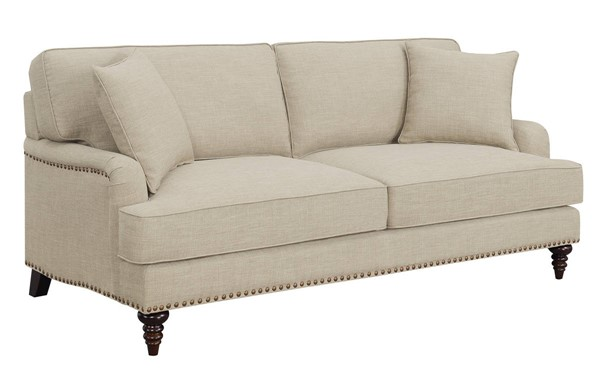 Picket House Cassandra Natural Fabric Sofas PKT-UBB0-300E-SF-VAR
