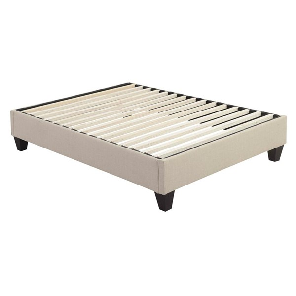 Picket House Abby Natural Fabric Full Platform Bed PKT-UBB082FBBO