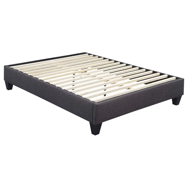 Picket House Abby Charcoal Fabric Queen Platform Bed PKT-UBB090QBBO