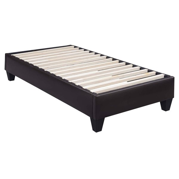 Picket House Abby Faux Leather Fabric Platform Beds PKT-UBB102-BED-VAR