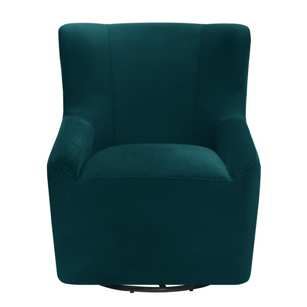 Picket House Misha Peacock Fabric Swivel Accent Chair PKT-UBC1810102SWE