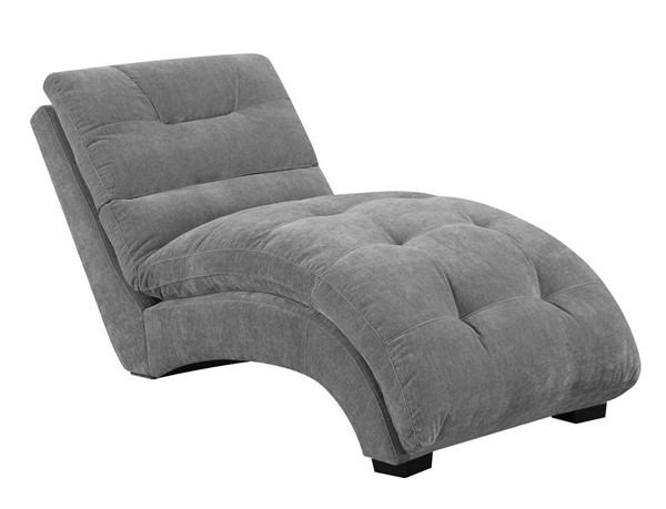 Picket House Paulson Granite Microfiber Fabric Chaise Lounge PKT-UDK1746110